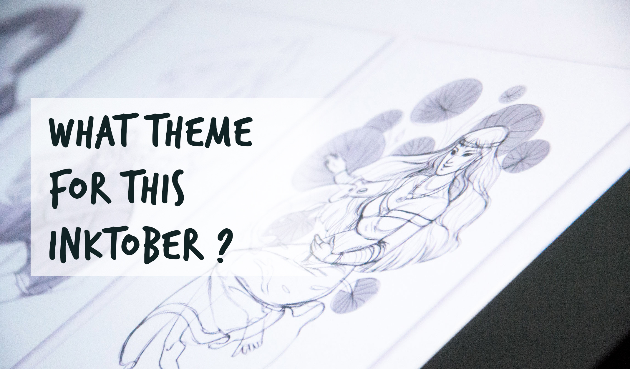 inktober 2019 theme prompt